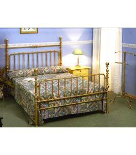 Acheter en ligne Lits en laiton et têtes de lit: modèle ANGERS.