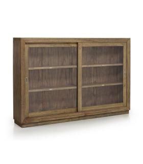 Acheter en ligne Vitrines en bois au style Colonial : Collection MERAPI