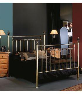 Acheter en ligne Têtes de lit et lits en laiton: modèle CHAMBORD.