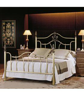 Acheter en ligne Têtes de lit et lits en laiton: modèle BLOIS.