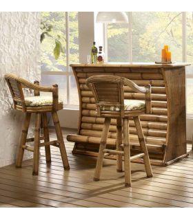 Acheter en ligne Meubles Bar en Bambou : Modèle MINDANAO