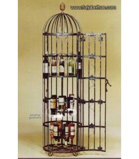 Acheter en ligne Casiers à bouteilles en fer forgé: Modèle EPIQUE