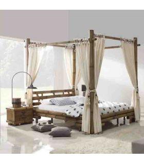 Acheter en ligne Lits à baldaquin en bambou: modèle JIMBARAN.