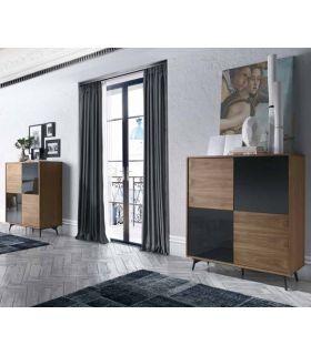 Acheter en ligne Commodes avec de Portes de Design Moderne : Collection LATVIA