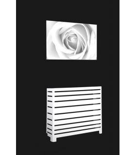 Acheter en ligne Cache-radiateurs en fer forgé: modèle MILAN.