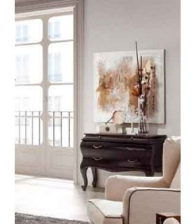 Acheter en ligne Commode en bois : Collection ANTONIETA Black