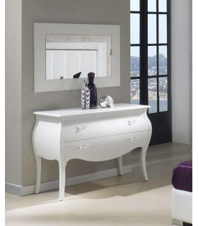 Acheter en ligne Commodes en bois: modèle C-93 (blanc)