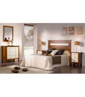 Acheter en ligne Têtes de lit en bois: modèle BARI.