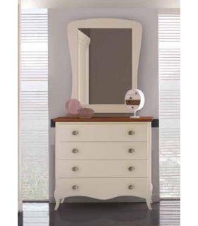 Acheter en ligne Commode en bois : Collection PRAGA RYS
