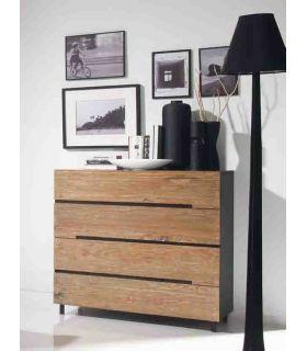 Acheter en ligne Commodes en bois: modèle AVANA.