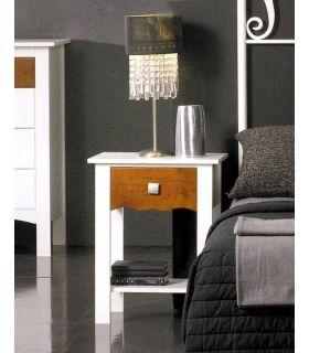 Acheter en ligne Tables de nuit en bois: modèle MONACO (avec 1 tiroir.)