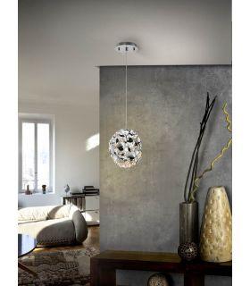 Acheter en ligne LAMPE 1L ·NARISA· Ø18 CHROMÉ