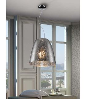 Acheter en ligne Lampes Suspendues : Collection QUASAR Chrome