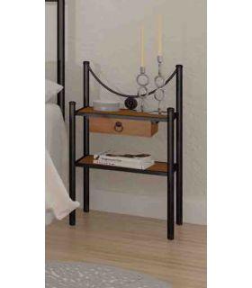 Acheter en ligne Tables de Chevet en Forge: Modèle MISTRAL RYS