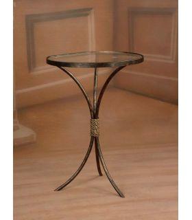 Acheter en ligne Tables de nuit en fer forgé: modèle NURIA.