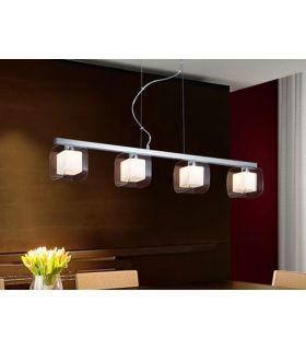 Acheter en ligne Lampes suspendues modernes: modèle CUBE Chrome.