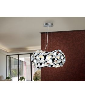 Acheter en ligne LAMPE 3L·NARISA· Ø32 CHROMÉ