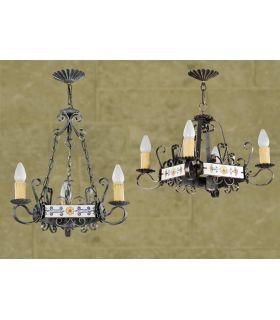 Acheter en ligne Lampes rustiques: modèle L-109/3.