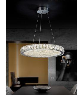 Acheter en ligne Suspensions LED avec Verre Facetté : Collection DANA