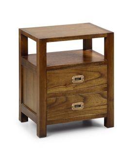 Acheter en ligne Table de chevet : Modèle STAR 2 tiroirs