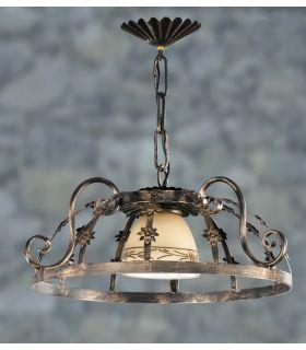 Acheter en ligne Lampes en fer forgé: modèle L-121/1.