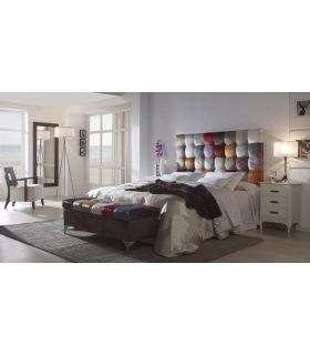 Acheter en ligne Têtes de lit simili cuir: modèle PATHWORK.