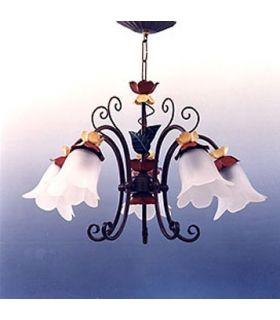 Acheter en ligne Lampes en fer forgé: modèle SUSANA.