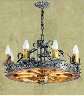 Acheter en ligne Lampes en fer forgé: modèle L-115/8.