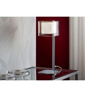 Acheter en ligne Lampes de table: modèle CUBE Chrome.