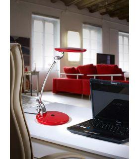 Acheter en ligne Lampe d?étude LED : Modèle OMNIA Rouge