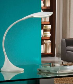Acheter en ligne Flexo de Sobremesa LED : Modelo SWAN Blanco