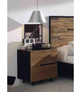 Acheter en ligne Tables de nuit en teck: modèle AVANA.