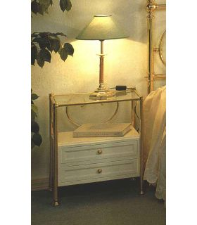 Acheter en ligne Tables de nuit en fer forgé: modèle 1059.