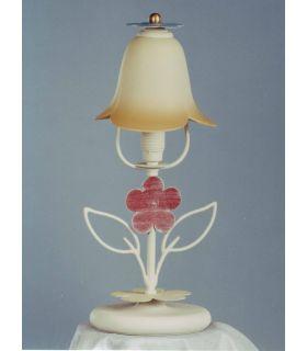Acheter en ligne Lampes de table: modèle FLOREAL (abaj-jour haute)