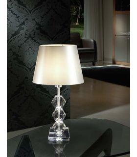 Acheter en ligne Lampe de Table en Verre : Modèle CORINTO