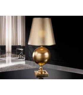 Acheter en ligne LAMPE TABLE ·TERRA· AC. FEUILL