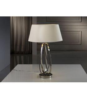 Acheter en ligne LAMPE TABLE 1L ·OVALOS· NIQUEL