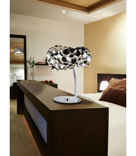 Acheter en ligne LAMPE DE TABLE 3L ·NARISA· CHR