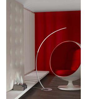 Acheter en ligne Lampadaire LED au Design Moderne : Modèle TRAZO