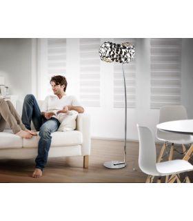 Acheter en ligne LAMPADAIRE 5L ·NARISA· CHROME