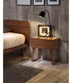 Acheter en ligne Table de chevet en bois : Modèle ICELAND