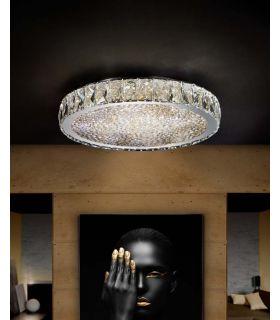 Acheter en ligne Plafonniers LED avec Verre Facetté : Collection DANA MD