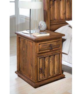 Acheter en ligne Tables de Chevet avec Porte : Collection TRONC