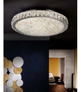 Acheter en ligne Plafonniers LED avec Verre Facetté : Collection DANA GR