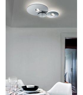 Acheter en ligne Plafonnier design moderne : Modèle BUGIA Double
