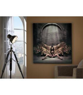 Acheter en ligne Tableau en lamelles photographiques : Modèle ANGE