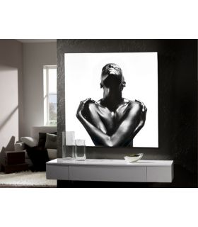 Acheter en ligne Tableau en lamelles photographiques : Modèle EBANO
