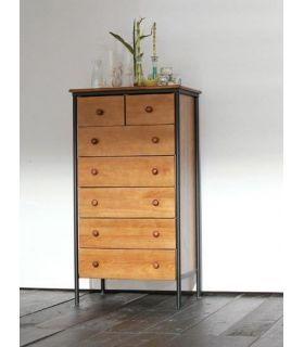 Acheter en ligne Chiffonnier en bois et fer forgé : Modèle MARSEILLE