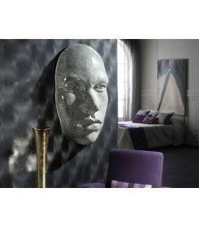 Acheter en ligne Murale Décorative avec Plaques en Miroir : Modèle FAZ Argent