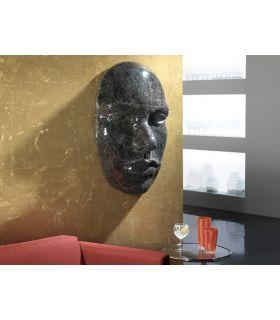 Acheter en ligne Murale Décorative avec Plaques en Miroir : Modèle FAZ Noir